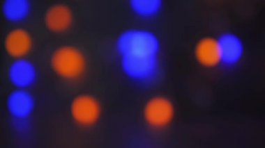 Red, Green, Blue Lights On Dark Abstract Background