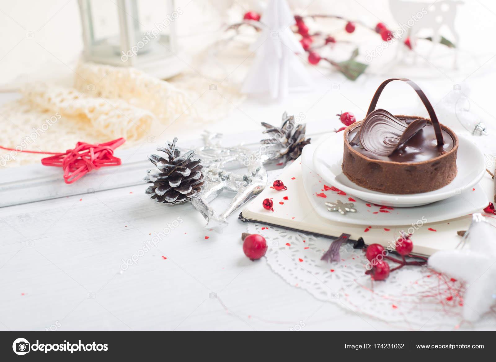 Beautiful Chocolate Tart Stock Photo C Vasilek 174231062