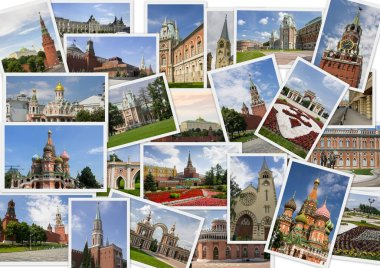 Landmarks of Moscow