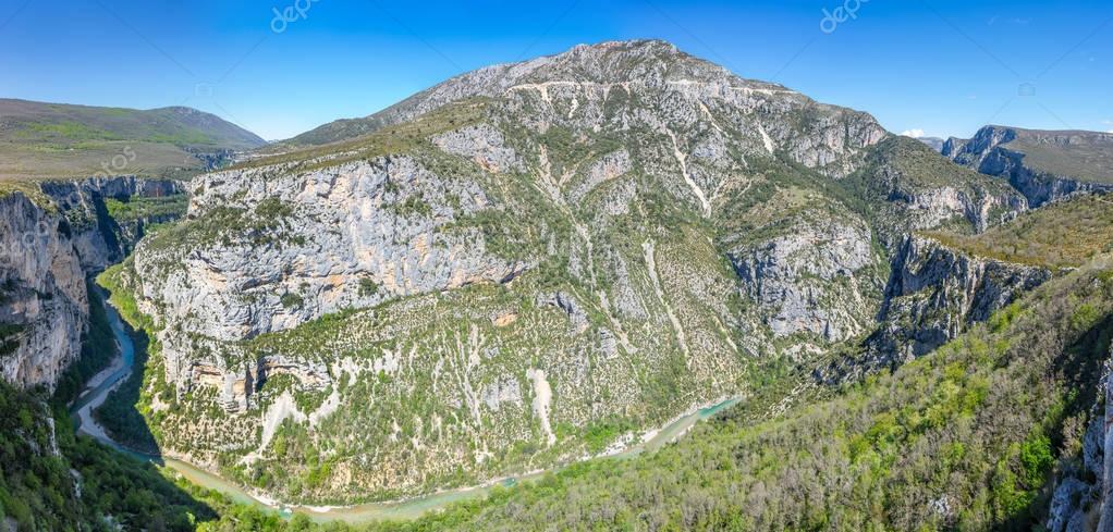 Gorge du Verdon in Provence