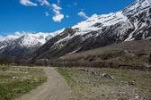 montagne del Caucaso in russia