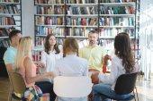 Fotografie Setkání s lidmi v knihovně