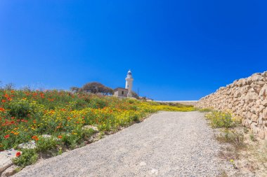 Lighthouse at Paphos, Cyprus