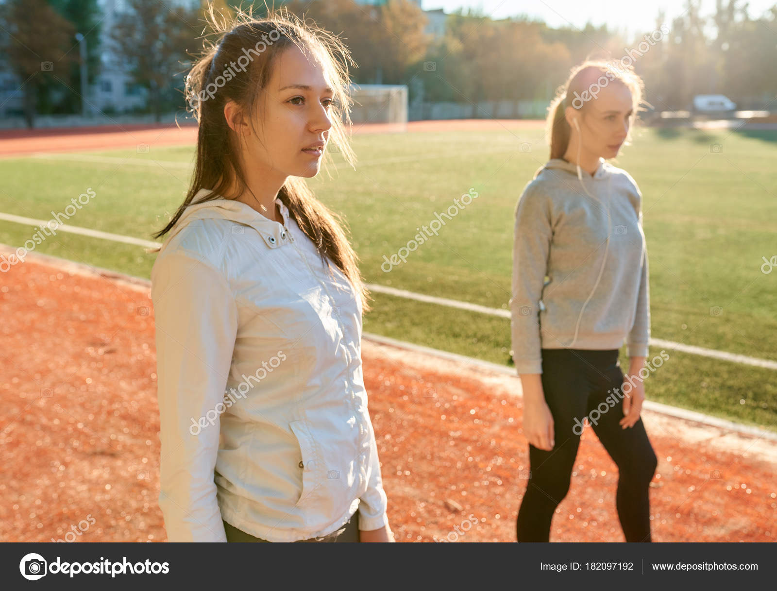 Two sports teens
