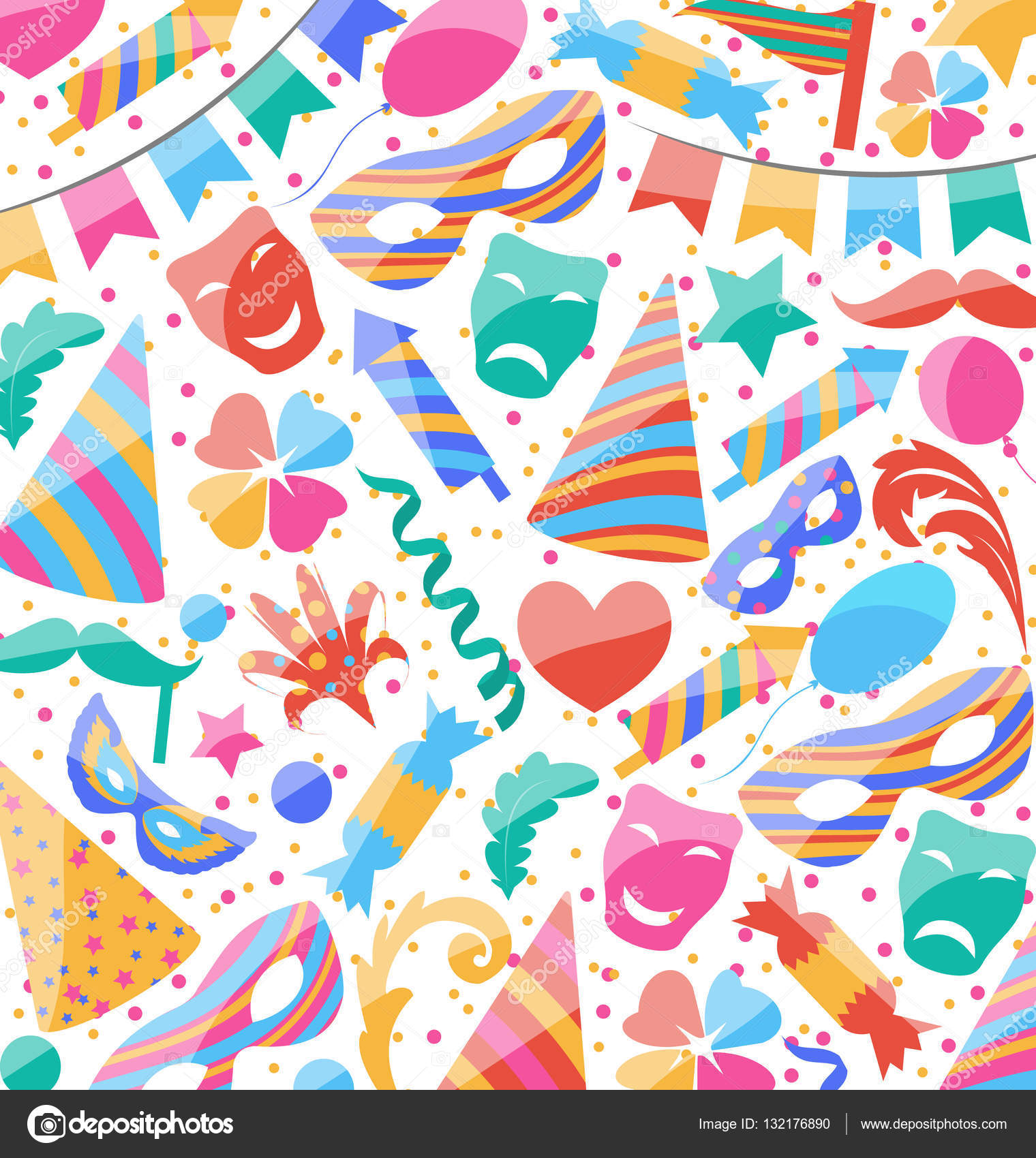 Obj Wallpaper Festive Wallpaper With Carnival And Party