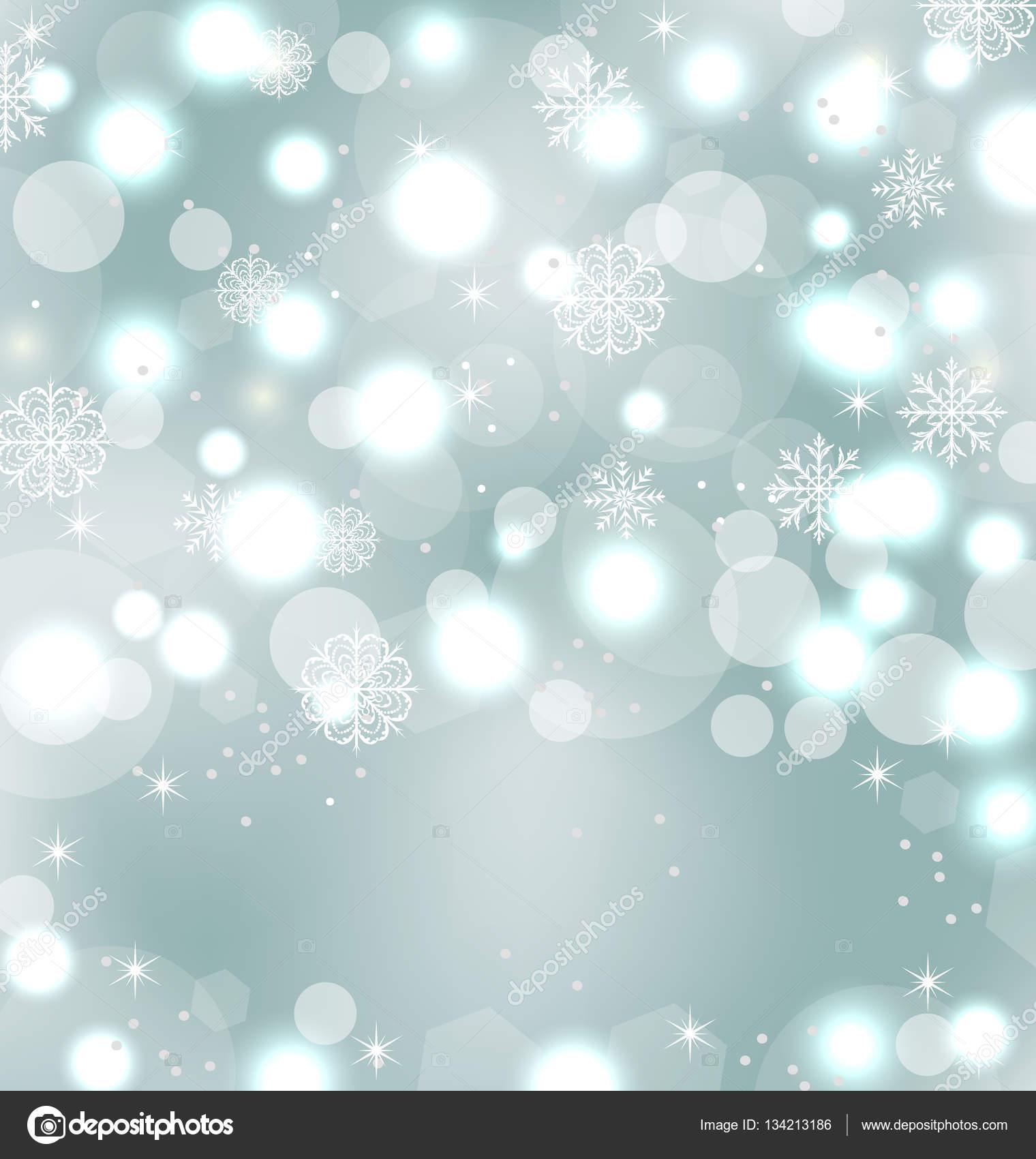 Weihnachten niedlich Tapete mit funkel, Schneeflocken, Sterne ...