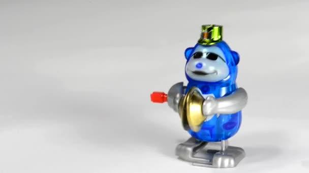 Windup scimmia giocattolo