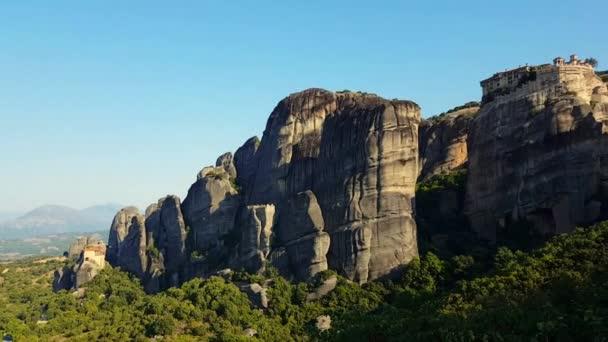 Meteora hory na ranní