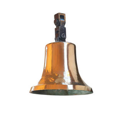 Ships bell from brass