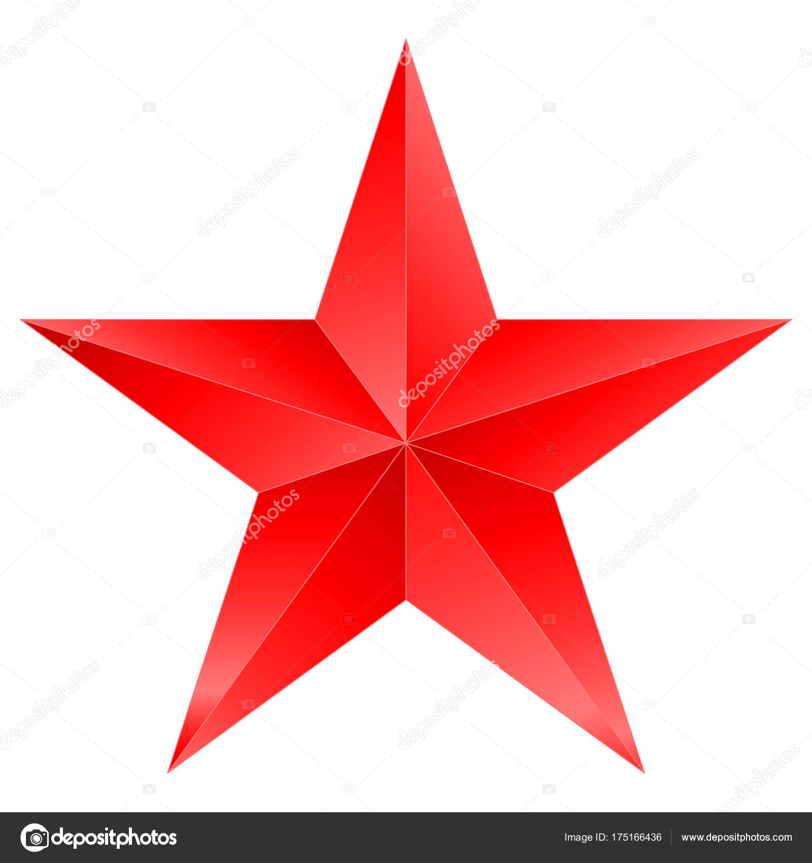 Stella Di Natale A 5 Punte.Rosso Natale Stella Stella A 5 Punte Isolato Su Bianco