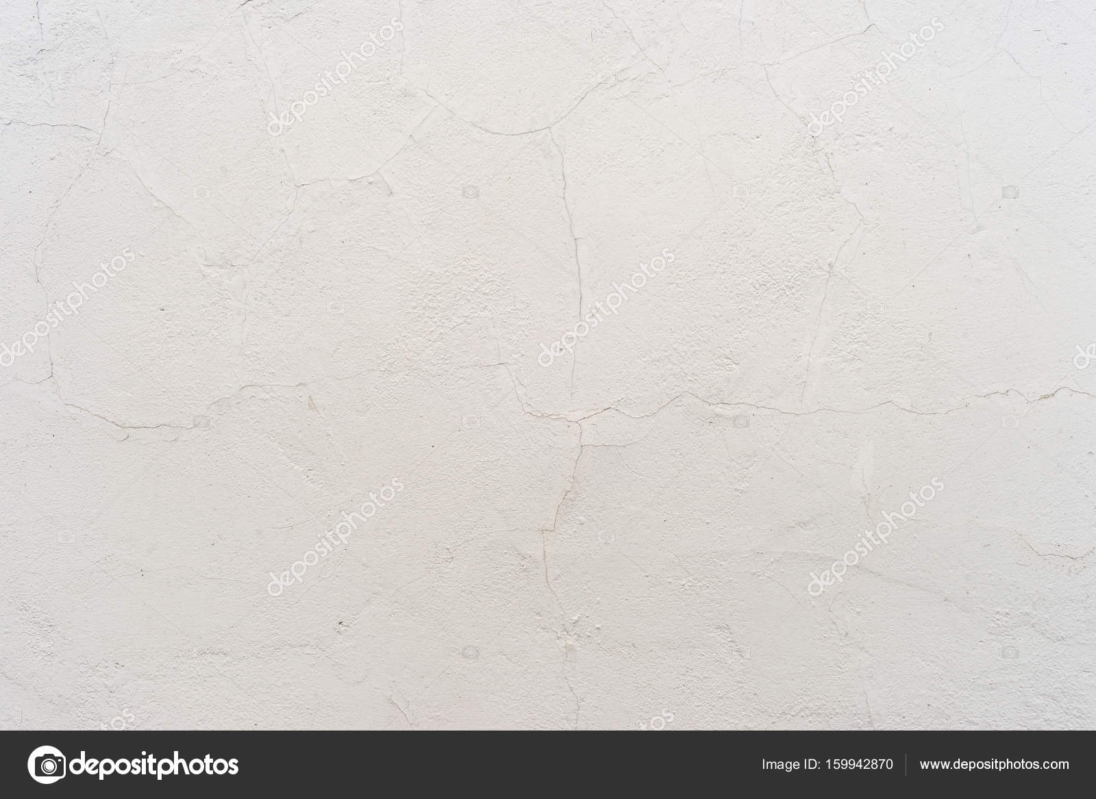 White Stucco Wall Texture Background Stock Photo