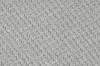 Gray fabric texture.