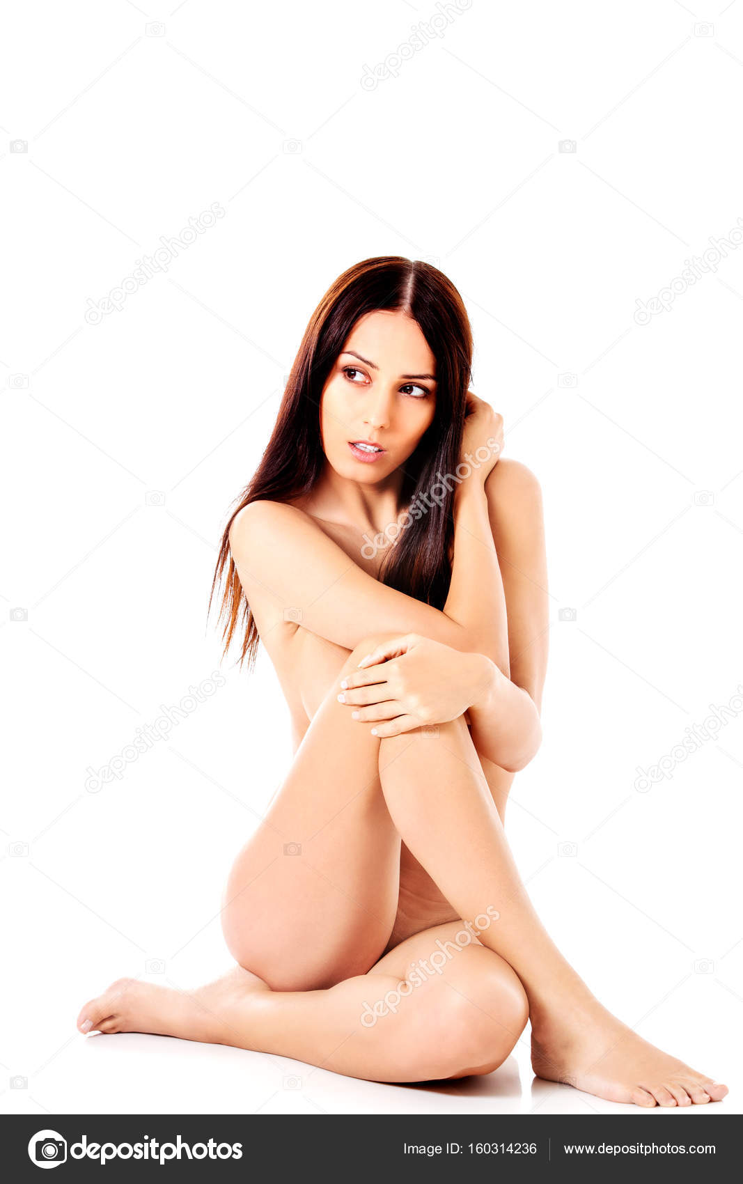 Commit nude art model sitting know