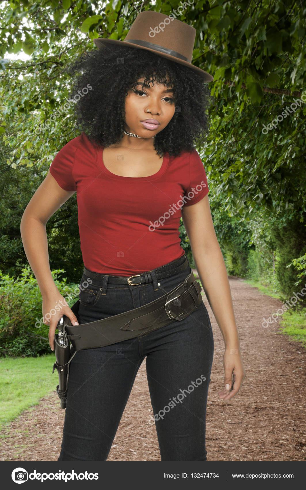 Reverse Cowgirl Schwarzes Mädchen