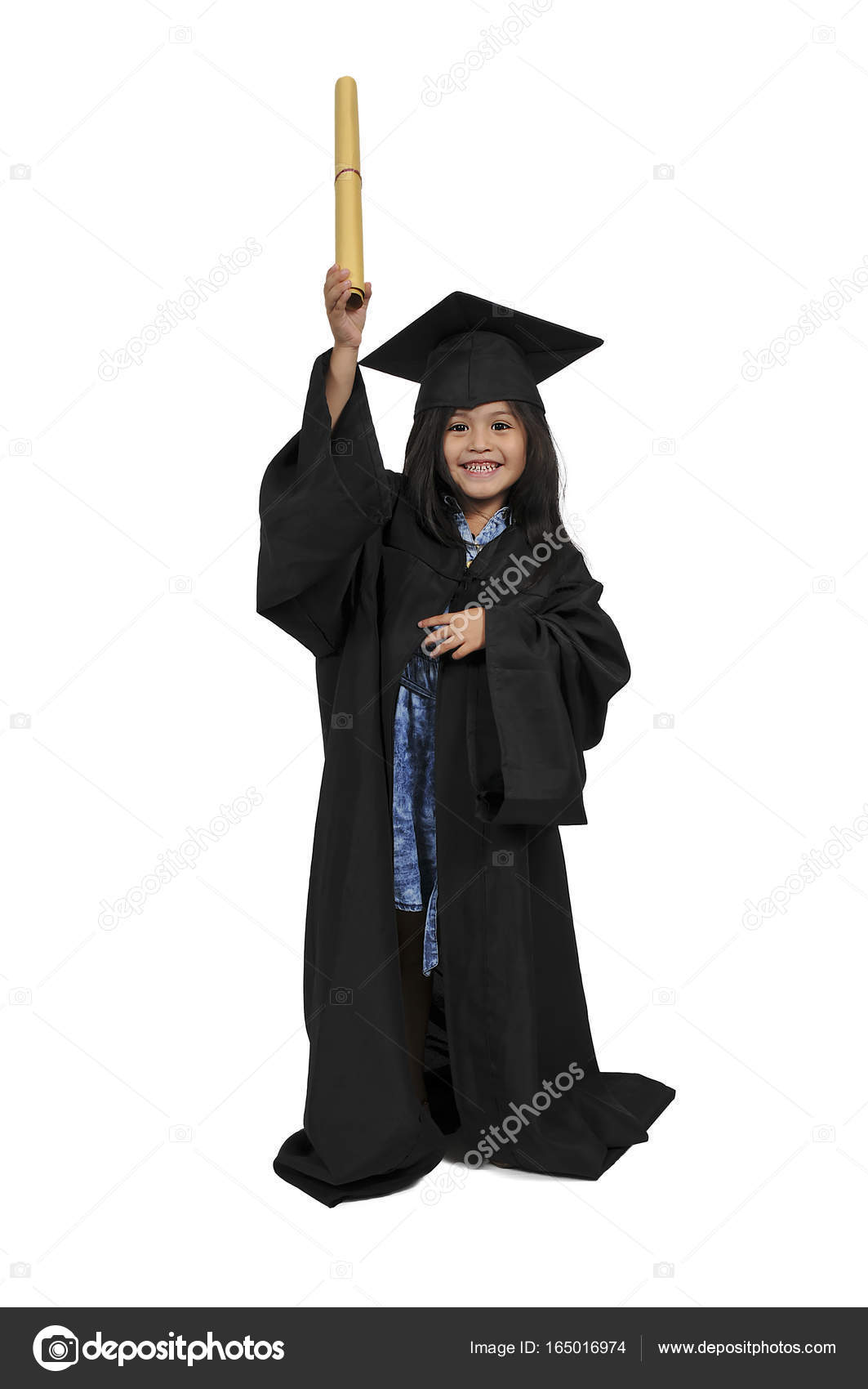 Little Girl Graduate — Stock Photo © robeo123 #165016974