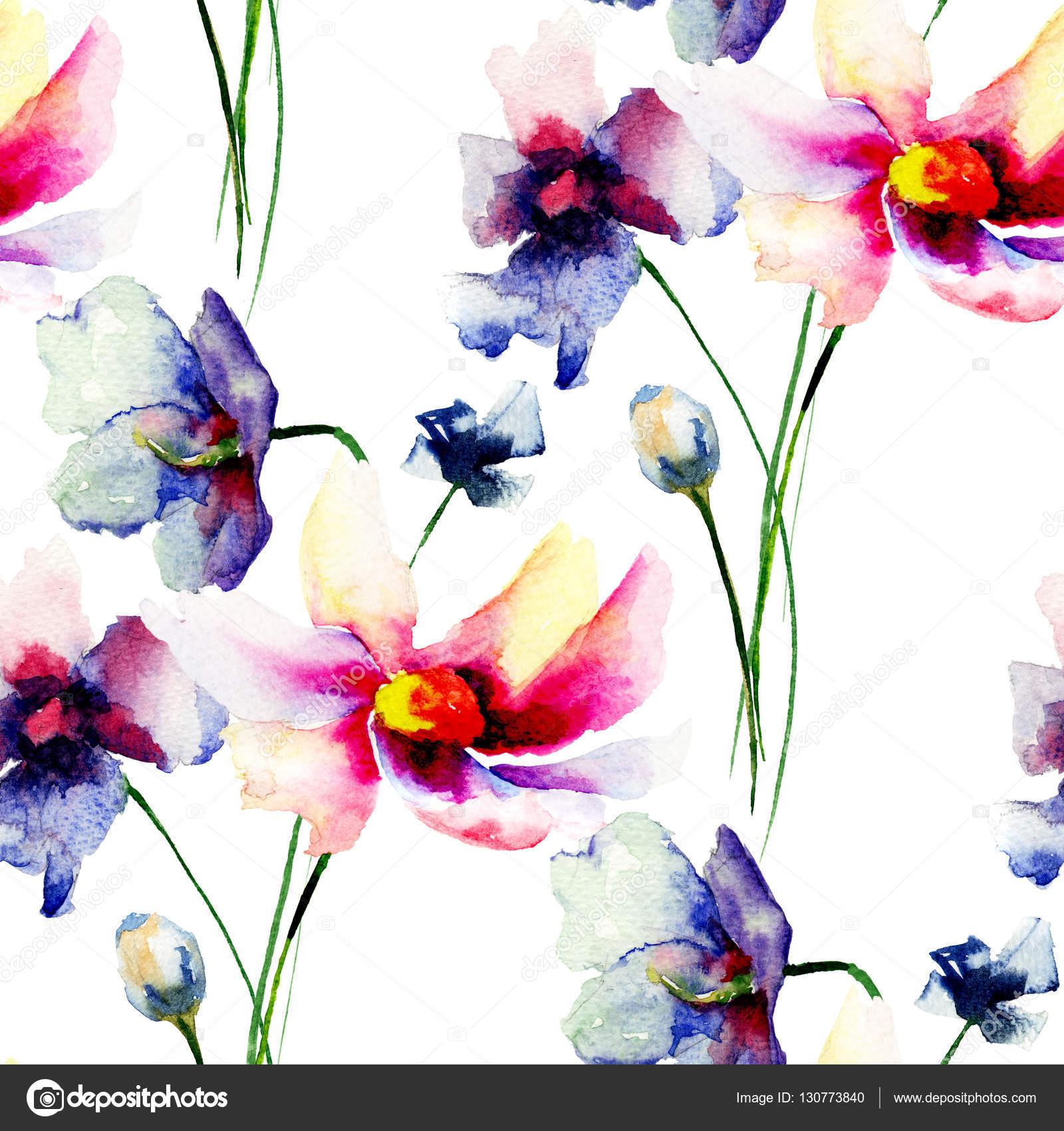 Fondos De Pantalla Transparentes Con Flores Decorativas