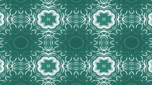 Kaleidoscope pattern. Abstract multicolored motion graphics background. Yoga, clubs, shows, mandala, fractal animation.