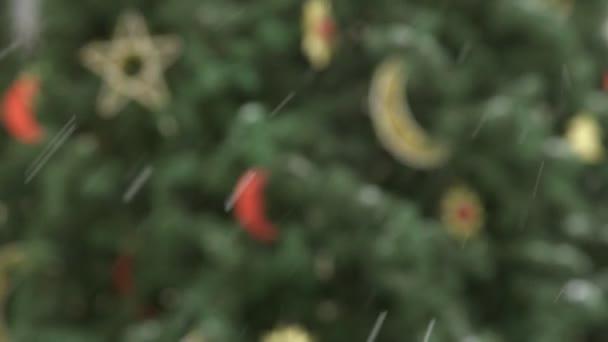 New Year decorative Christmas tree