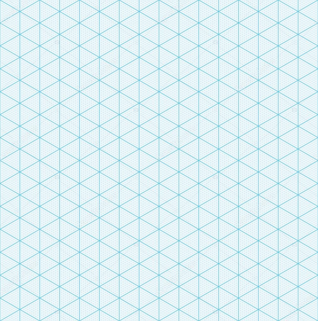 Isometric graph paper for 3D design Vector almagami – Isometric Graph Paper