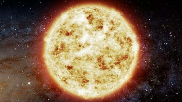 Slunce v prostoru. Galaxie Mléčné dráhy. Prvky tohoto obrázku jsou podle Nasa