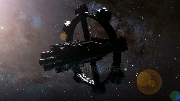 Vesmírná stanice obíhající kolem země. Prvky tohoto obrazu, které Nasa
