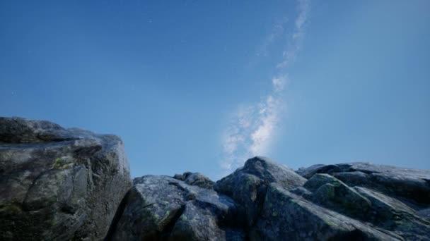 4 k asztrofotográfia csillag pályák homokkő kanyon falai fölött