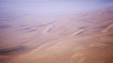 4k amazing Erg chebbi dunes in the sahara desert, morocco