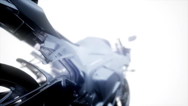 sport moto bike ve studiu