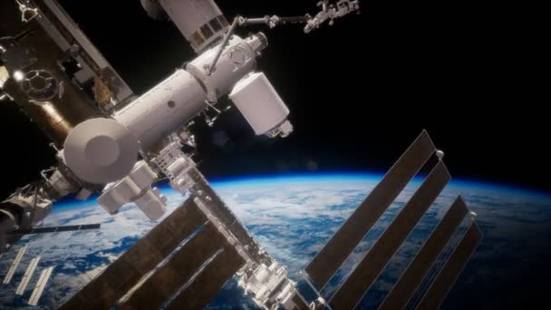 International Space Station in outer space over the planet Earth