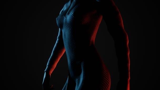 Sexy ženy prsa a bradavky přes elegantní hoody