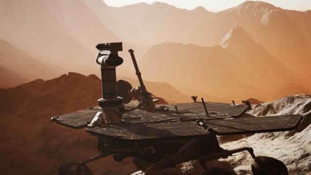 Příležitost Mars zkoumání povrchu červené planety