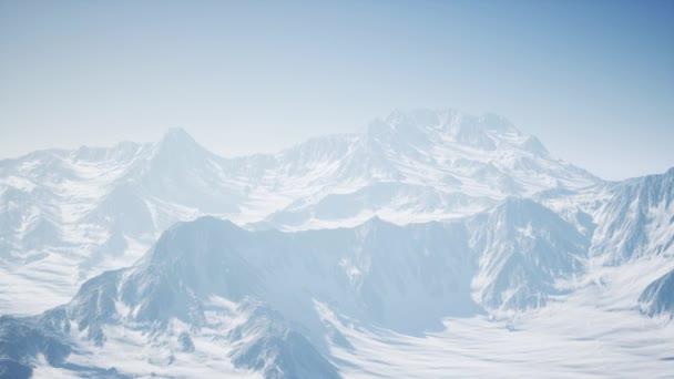 Alpy hory ze vzduchu