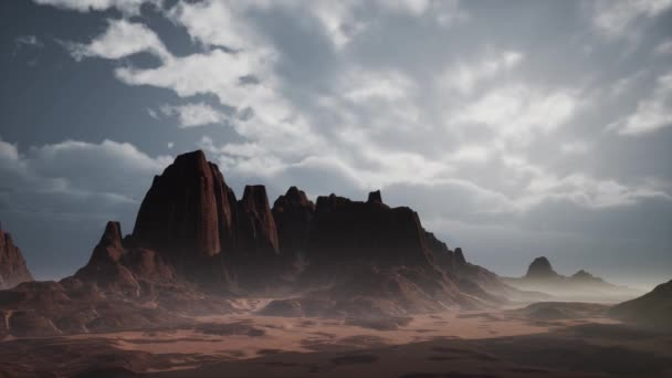 Skalnatá pouštní krajina