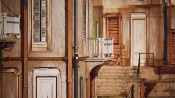 romantischer Ort in der Altstadt am Meer