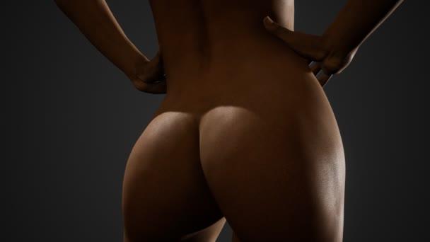 krásné nahé tělo ženy, mladé a sexy