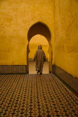 Mausoleum of Moulay Idris in Meknes, Morocco.