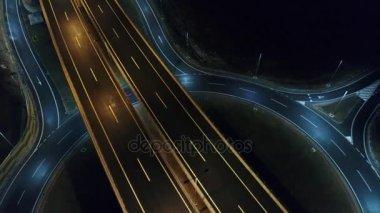 empty city road