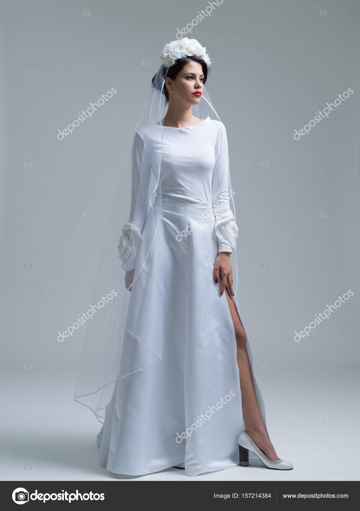 Luxury Vestidos De Novia Con Velo Component - All Wedding Dresses ...