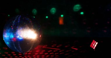 Disco ball reflection
