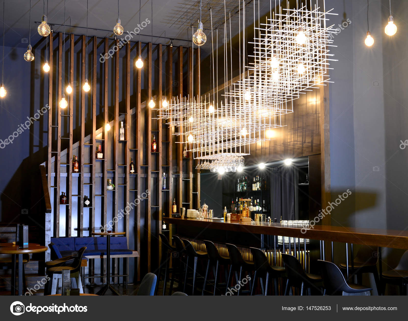 bar design d'intérieur — photographie tony4urban © #147526253