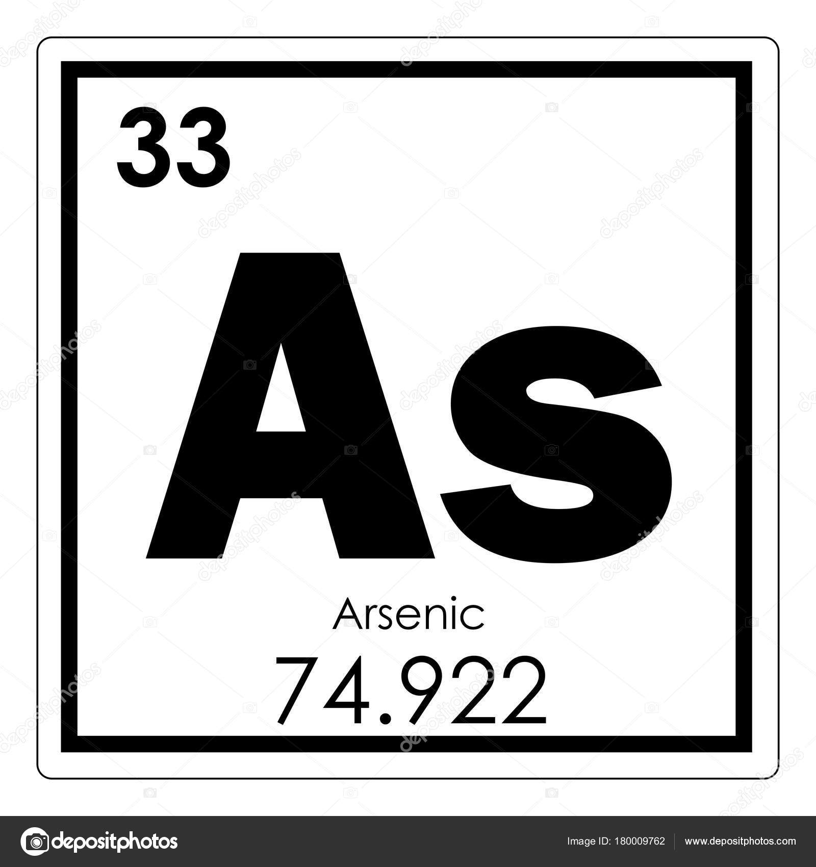 A study on the chemical element of arsenic