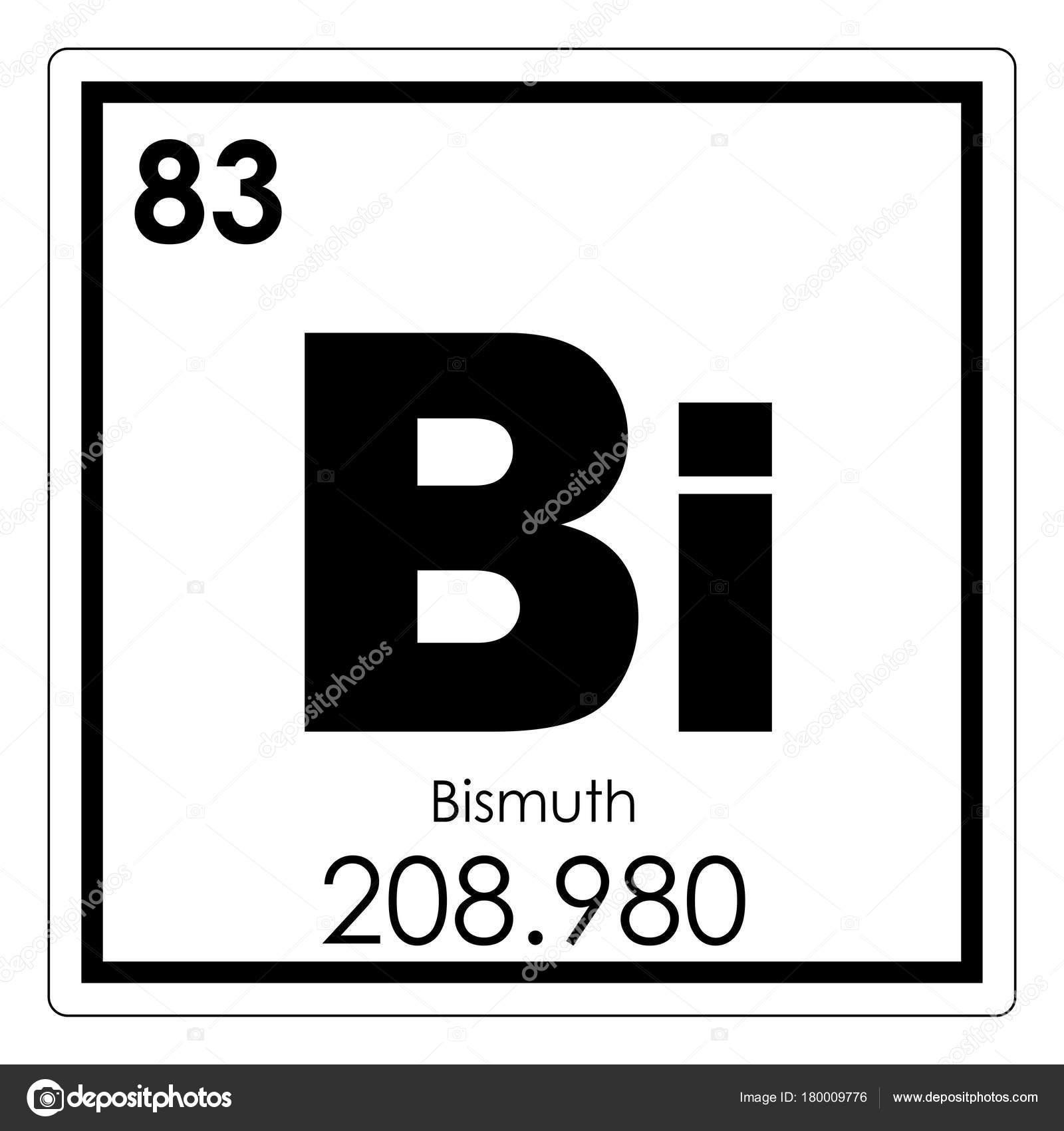 Bismuth chemical element stock photo tony4urban 180009776 bismuth chemical element periodic table science symbol photo by tony4urban buycottarizona