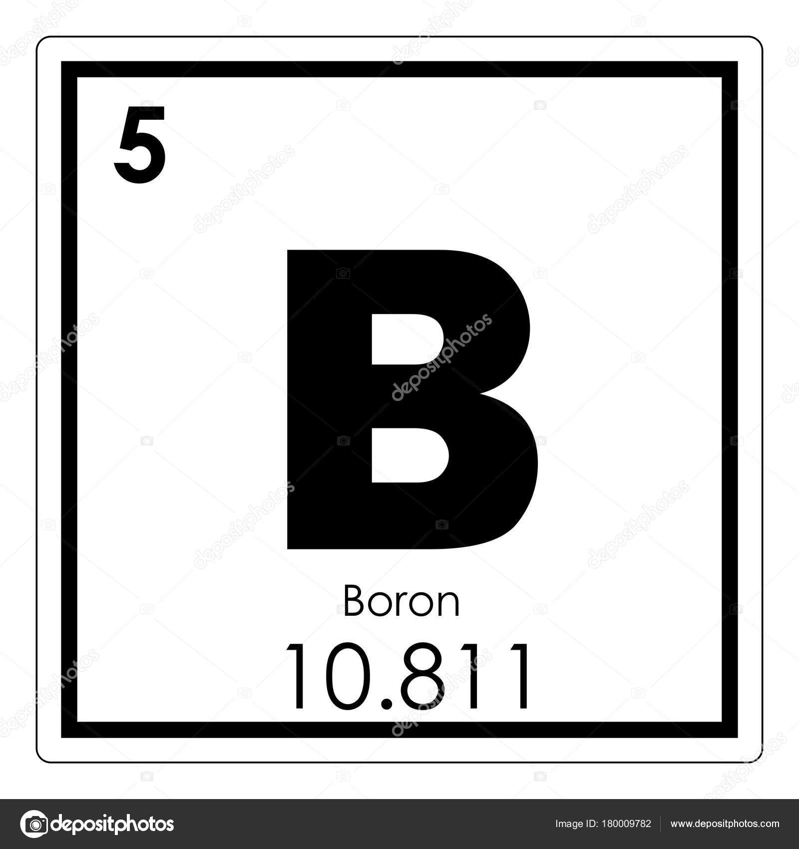 Elemento qumico boro fotos de stock tony4urban 180009782 smbolo de ciencia de tabla peridica de elementos qumicos de boro foto de tony4urban urtaz Image collections