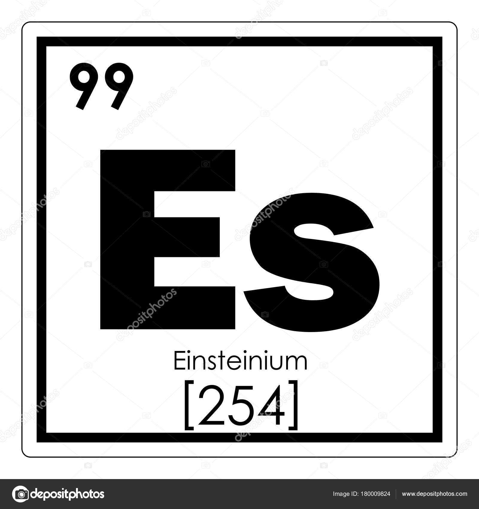 アインスタイ ニウム元素記号 — ...