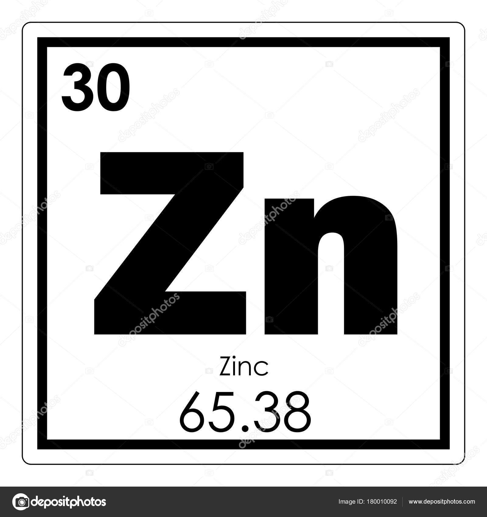 Elemento qumico del cinc fotos de stock tony4urban 180010092 smbolo de la ciencia de zinc elemento qumico tabla peridica foto de tony4urban urtaz Images