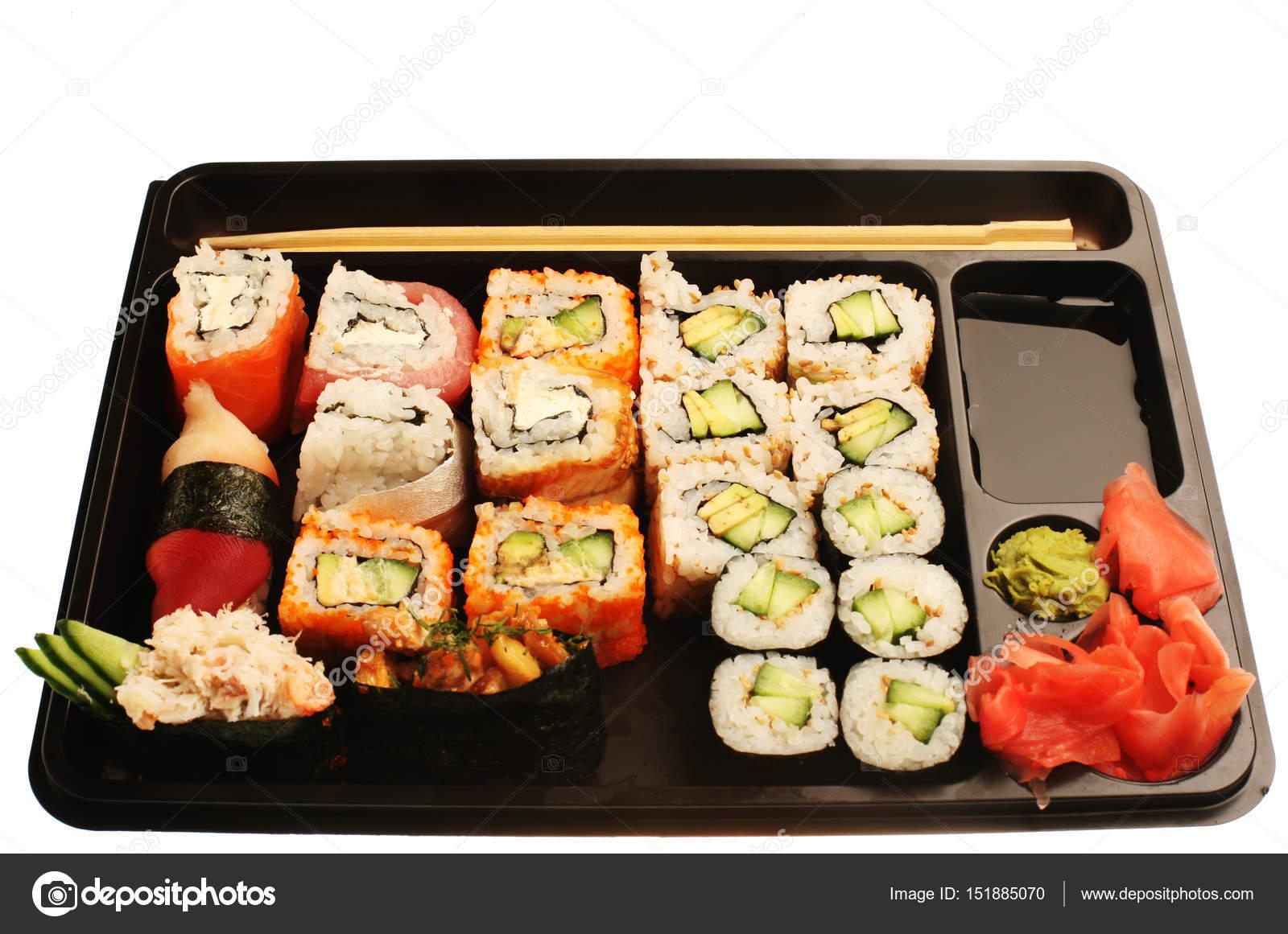 Japanese Traditional Sushi Stock Photo C Kanareva 151885070
