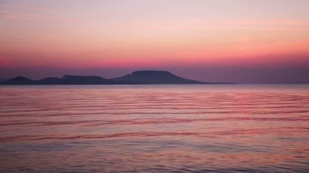 A Balaton Magyarország gyönyörű napfelkelte