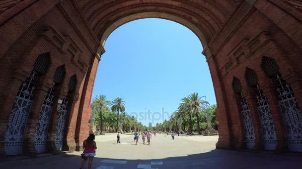 Arc de Triomf, Barcelone,   20, June 2017, Barcelona, Spain