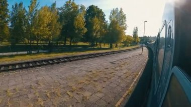Magyarországon a vonat lassított felvételeket állomás Balatonalmádi