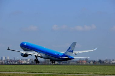 Amsterdam the Netherlands - April 2nd, 2017: PH-AKD KLM Royal Dutch Airlines